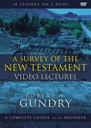A Survey of the New Testament Video Lectures (Zondervan Academic Course DVD Study Series) DVD
