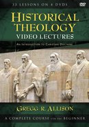 Historical Theology Video Lectures: An Introduction to Christian Doctrine DVD