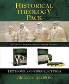 Historical Theology Text Book and DVD Lectures Pack Pack
