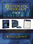Systematic Theology Pack: A Complete Introduction to Biblical Doctrinr