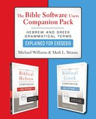 The Bible Softward Users Companion Pack Paperback