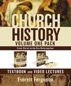 Church History Volume One Text Book and DVD Lectures Pack