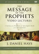 The Message of the Prophets Video Lectures (Zondervan Academic Course DVD Study Series) DVD