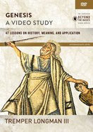 Genesis : 47 Lessons on History, Meaning, and Application (Video Study) (Zondervan Beyond The Basics Video Series) DVD