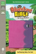 NIRV Adventure Bible For Early Readers Purple/Pink Duo-Tone Imitation Leather
