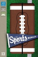 NIV Sports Collection Bible Football (Red Letter Edition) Imitation Leather
