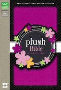 NIRV Plush Bible Collection Purple Sparkle (Black Letter Edition) Hardback