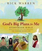God's Big Plans For Me Storybook Bible eBook