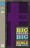 NIV Big Dreams Big Prayers Bible For Kids Fuschia (Black Letter Edition) Premium Imitation Leather