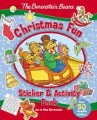 Sticker & Activity Book: The Berenstain Bears Christmas Fun Paperback