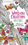NIV Wonders of Creation Holy Bible: Illustrations to Color and Inspire