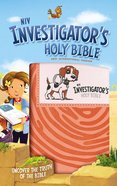 NIV Investigator's Holy Bible Coral (Black Letter Edition) Premium Imitation Leather