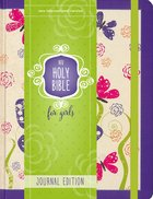 NIV Holy Bible For Girls Journal Edition Purple Elastic Closure