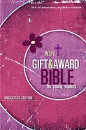 NIRV Gift and Award Bible For Young Readers Anglicised Edition Pink Paperback