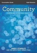 Community (Conversation Guide) Paperback
