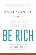 How to Be Rich (Dvd With Book Which Includes Discussion Questions) Pack