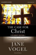The Case For Christ/The Case For Faith Revised Student Edition Leader's Guide Paperback