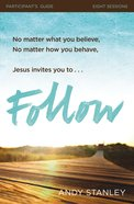 Follow (Participant's Guide) Paperback