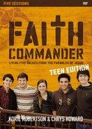 Faith Commander Teen Edition (Dvd Study) DVD