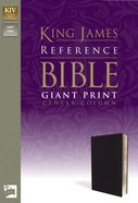 KJV Reference Bible Giant Print (Red Letter Edition) Imitation Leather