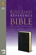 KJV Personal Giant Print Reference Bible Black (Red Letter Edition) Imitation Leather