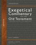 Nahum (Zondervan Exegetical Commentary On The Old Testament Series) Hardback