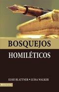Bosquejos Homilticos (Sketches Homiletic) Paperback