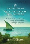 Rvr1960 Tras Las Huellas Del Mesas Biblia De Estudio Brown (Following The Steps Of The Messiah Study Bible) Imitation Leather