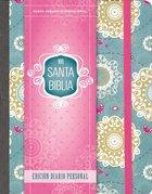 Nvi Santa Biblia Edicion Diario Personal Floral (Holy Bible Journal Edition)