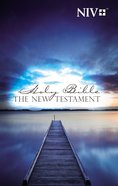 NIV Outreach New Testament Blue Pier Paperback