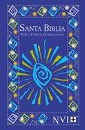 Nvi Santa Biblia/Nvi Outreach Bible Blue Fiesta Paperback