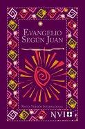 Nvi Evangelios De Juan De Bolsillo Purpura Fiesta (Pocket Gospel Of John) Paperback