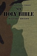 NIV Holy Bible Military Edition Camouflage Green (Black Letter Edition) Paperback