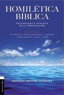Homiltica Bblica Paperback