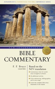 New International Bible Commentary (NIV) (Zondervans Understand The Bible Reference Series)