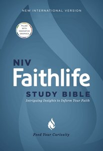 NIV Faithlife Study Bible (Black Letter Edition)