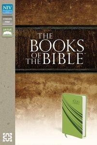 NIV Books of the Bible Green Duo-Tone