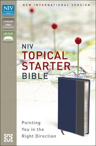 NIV Topical Starter Bible (Red Letter Edition)