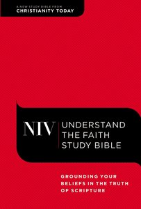 NIV Understand the Faith Study Bible Red