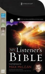NIV Listeners Audio Bible Complete (Unabridged 75.37 Hrs)