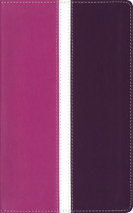 Amplified Holy Indexed Bible Dark Orchid/Deep Plum (Black Letter Edition)