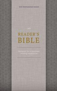 NIV Readers Bible Gold/Gray (Black Letter Edition)