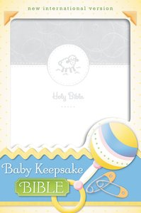 NIV Baby Keepsake Bible (Red Letter Edition)