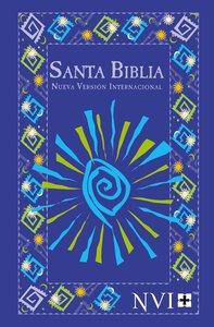 Nvi Santa Biblia/Nvi Outreach Bible Blue Fiesta