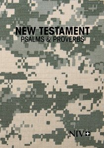 NIV New Testament With Psalms & Proverbs Pocket-Sized Military Edition Digi Camo Paperback