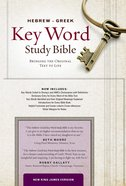 NKJV Hebrew-Greek Key Word Study Bible Burgundy Genuine Leather Indexed