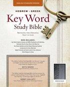 ESV Hebrew-Greek Key Word Study Bible Black Duraflex Indexed
