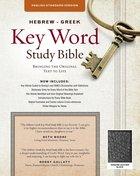 ESV Hebrew-Greek Key Word Study Bible Black Indexed