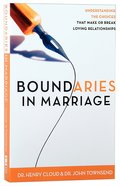 Boundaries in Marriage Paperback