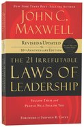 21 Irrefutable Laws of Leadership Paperback